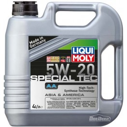 Моторное масло Liqui Moly Special Tec AA 5W-20 7621 4 л