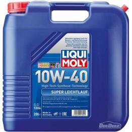 Моторное масло Liqui Moly Super Leichtlauf 10w-40 1304 20 л