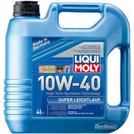 Моторное масло Liqui Moly Super Leichtlauf 10w-40 1916 4 л