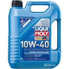 Моторное масло Liqui Moly Super Leichtlauf 10w-40 1929 5 л