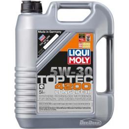Моторное масло Liqui Moly Top Tec 4200 5w-30 7661 5 л