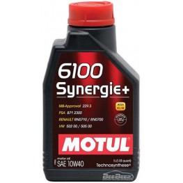 Моторное масло Motul 6100 Synergie+ 10w-40 839411/102781 1 л