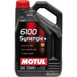 Моторное масло Motul 6100 Synergie+ 10w-40 839441/101491 4 л
