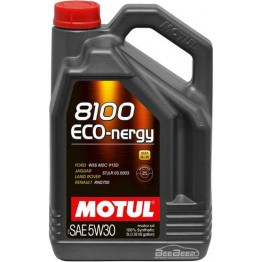 Моторное масло Motul 8100 Eco-nergy 5w-30 812306/102898 5 л