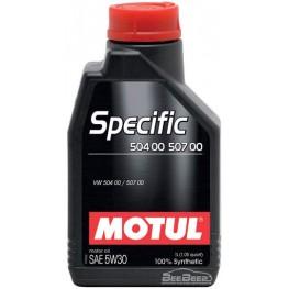 Моторное масло Motul Specific 504.00 507.00 5w-30 838711/106374 1 л
