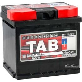 Аккумулятор автомобильный Tab Magic 55Ah R+