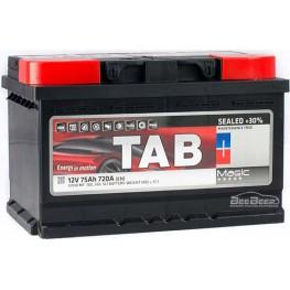 Аккумулятор автомобильный Tab Magic 75Ah R+