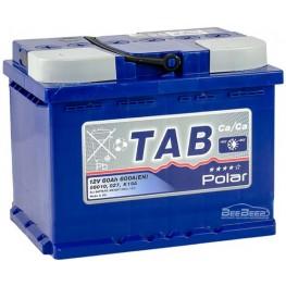 Аккумулятор автомобильный Tab Polar Blue 60Ah L+