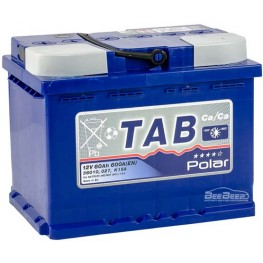 Аккумулятор автомобильный Tab Polar Blue 60Ah R+