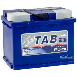 Аккумулятор автомобильный Tab Polar Blue 66Ah R+
