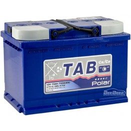 Аккумулятор автомобильный Tab Polar Blue 75Ah R+