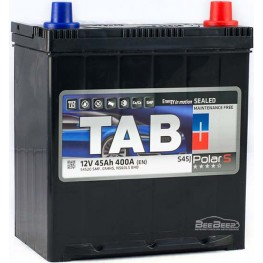 Аккумулятор автомобильный Tab Polar S 45Ah R+ Japan Min