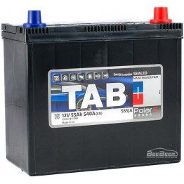 Аккумулятор автомобильный Tab Polar S 55Ah R+ Japan
