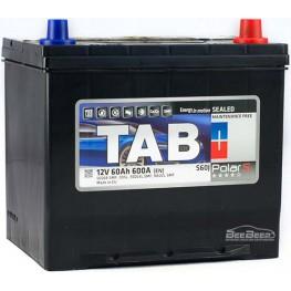 Аккумулятор автомобильный Tab Polar S 60Ah R+ Japan