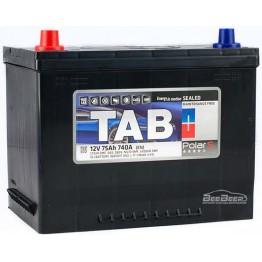 Аккумулятор автомобильный Tab Polar S 75Ah L+ Japan
