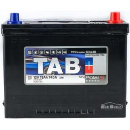 Аккумулятор автомобильный Tab Polar S 75Ah R+ Japan