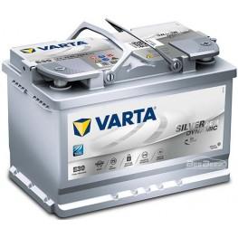 Аккумулятор автомобильный VARTA Silver Dynamic AGM 70Ah 570901076 E39