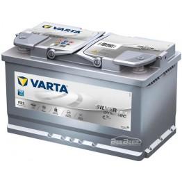 Аккумулятор автомобильный VARTA Silver Dynamic AGM 80Ah 580901080 F21