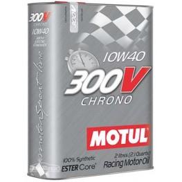 Моторное масло Motul 300V Chrono 10w-40 825902/104243 2 л