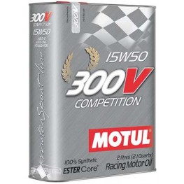 Моторное масло Motul 300V Competition 15w-50 825702/104244 2 л