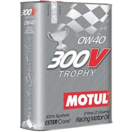 Моторное масло Motul 300V Trophy 0w-40 825402/104240 2 л