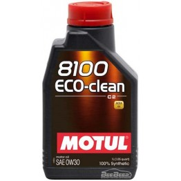 Моторное масло Motul 8100 Eco-clean 0w-30 868011/102888 1 л