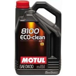 Моторное масло Motul 8100 Eco-clean 0w-30 868051/102889 5 л