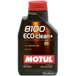 Моторное масло Motul 8100 Eco-clean+ 5w-30 842511/101580 1 л