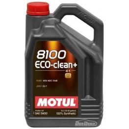Моторное масло Motul 8100 Eco-clean+ 5w-30 842551/101584 5 л