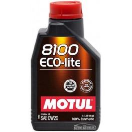 Моторное масло Motul 8100 Eco-lite 0w-20 841111/104981 1 л