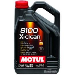 Моторное масло Motul 8100 X-clean 5w-40 854154/104720 4 л