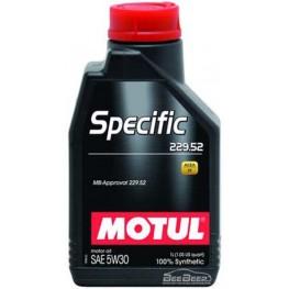 Моторное масло Motul Specific 229.52 5w-30 843611/104844 1 л