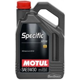 Моторное масло Motul Specific 229.52 5w-30 843651/104845 5 л