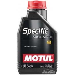 Моторное масло Motul Specific 504.00 507.00 0w-30 838611/107049 1 л