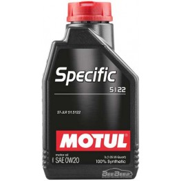 Моторное масло Motul Specific 5122 0w-20 867601/107304 1 л