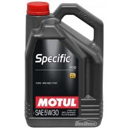 Моторное масло Motul Specific 913D 5w-30 856351/104560 5 л