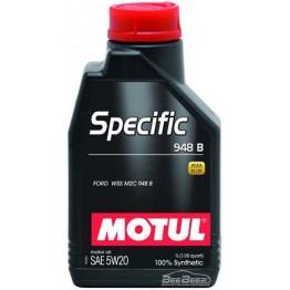 Моторное масло Motul Specific 948B 5w-20 867311/106317 1 л