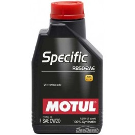 Моторное масло Motul Specific RBS0-2AE 0w-20 867411/106044 1 л