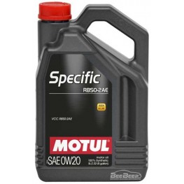 Моторное масло Motul Specific RBS0-2AE 0w-20 867451/106045 5 л