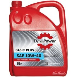 Моторное масло DynaPower Basic Plus 10w-40 5 л