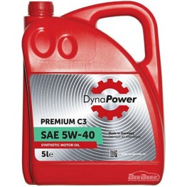 Моторное масло DynaPower Premium C3 5w-40 5 л