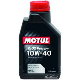 Моторное масло Motul 2100 Power+ 10w-40 397701/102770 1 л
