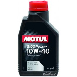 Моторное масло Motul 2100 Power+ 10w-40 397701/102770 1 л