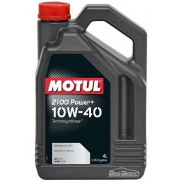 Моторное масло Motul 2100 Power+ 10w-40 397707/100017 4 л