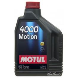 Моторное масло Motul 4000 Motion 10w-30 387202/100333 2 л