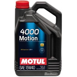 Моторное масло Motul 4000 Motion 15w-40 386406/100295 5 л