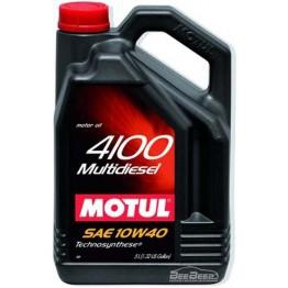 Моторное масло Motul 4100 Multidiesel 10w-40 381006/100261 5 л