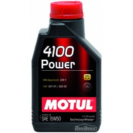 Моторное масло Motul 4100 Power 15w-50 386201/102773 1 л