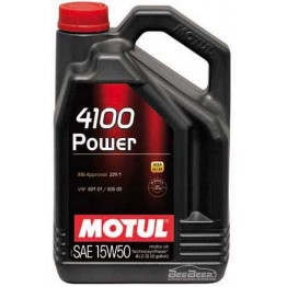 Моторное масло Motul 4100 Power 15w-50 386207/100271 4 л