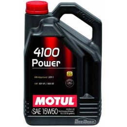 Моторное масло Motul 4100 Power 15w-50 386206/100273 5 л